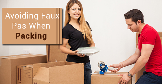 Avoiding Faux Pas When Packing