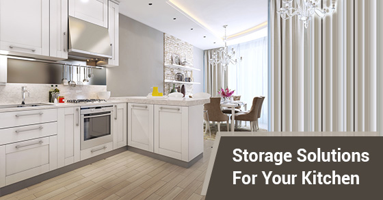 Storage Solutions For Your Kitchen