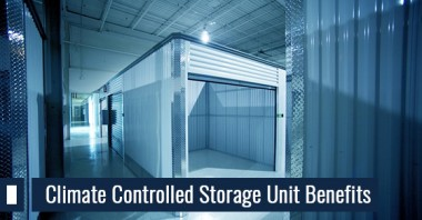 Climate Controlled Storage Unit Benefits