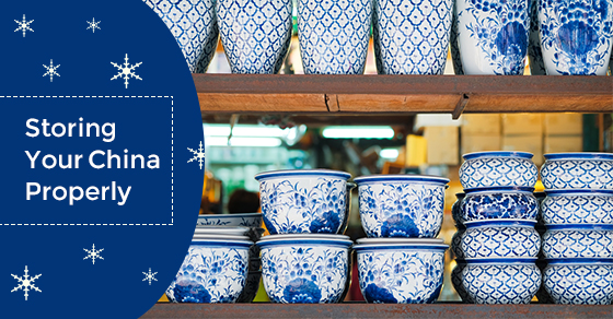 Storing Your China Properly