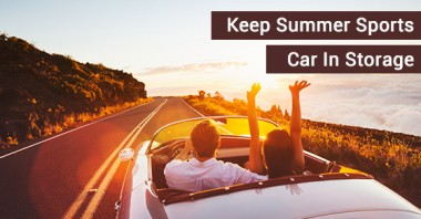 Keep Summer Sports Car In Storage