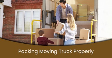 Packing Moving Truck Properly