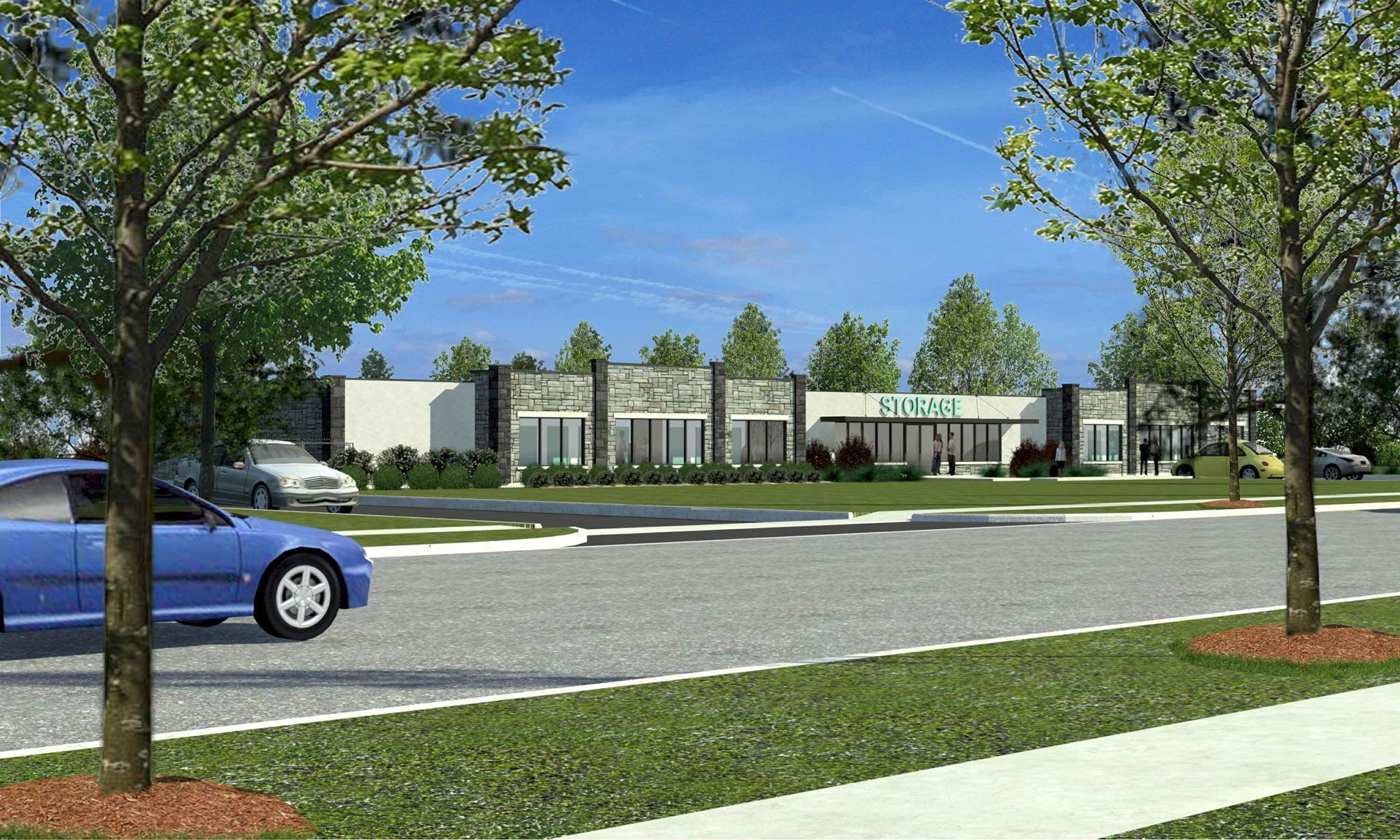 High-quality rendering of the future UltraStor Caledon location.