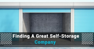 Finding A Great Self-Storage Company