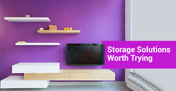 Storage Solutions Worth Trying
