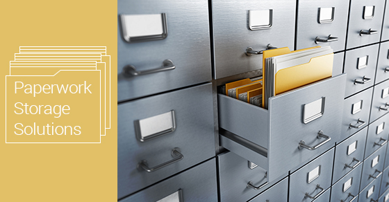 Paperwork Storage Solutions