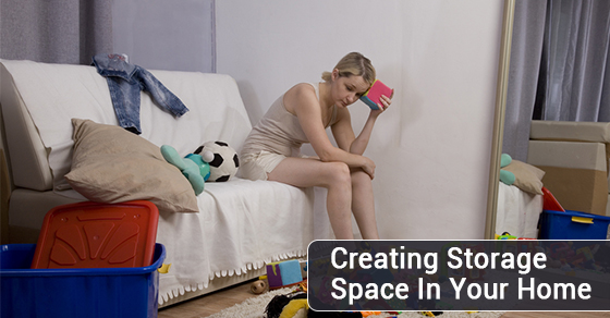 Creating Storage Space In Your Home