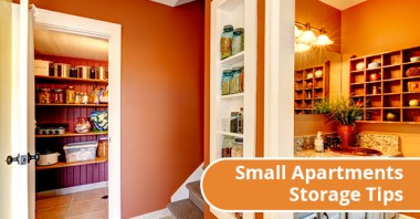 Small Apartments Storage Tips