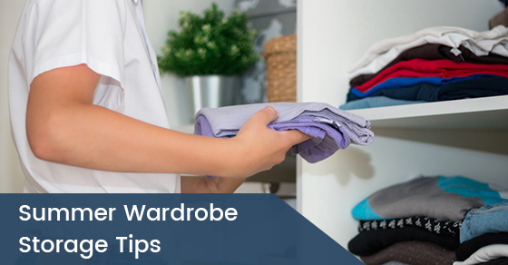 Summer Wardrobe Storage Tips