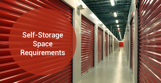Self-Storage Space Requirements
