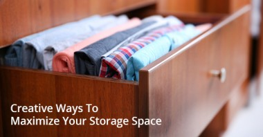 Creative Ways To Maximize Your Storage Space