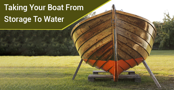 Taking Your Boat From Storage To Water