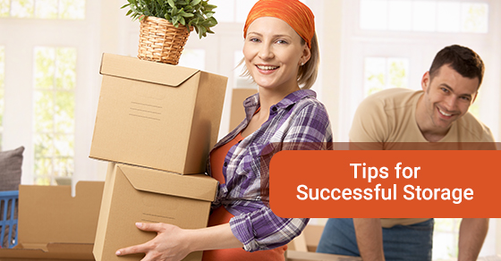 Storage tips to move your belongings